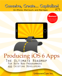 Unknown.com Announces the Release of Producing iOS 6 Apps: The Ultimate Roadmap for Both Non-Programmers and Existing Developers, the Perfect Tool for Anyone Interested in Creating iPhone Apps and iOS App Development