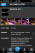 Venue Profile Page