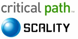 Scality and Critical Path Logos