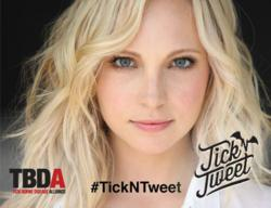 Help Candice Accola promote the TBDA's Virtual Walk by Tweeting