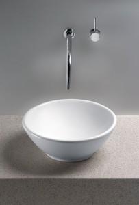 White Vessel Sinks For A Modern Twist On Classic Bathroom