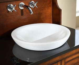 White Vessel Sinks For A Modern Twist On Classic Bathroom Sinks Are Introduced By Homethangs Com