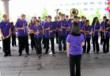 UW Husky Marching Band Performs at University House Issauqah