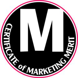 Certificate of Marketing Merit
