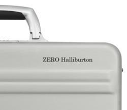 Engraving option for aluminum cases at ZERO Halliburton