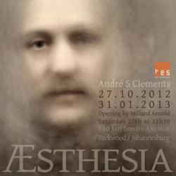 Æsthesia by André S Clements, exhibition poster