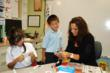Sagemont elementary school students enjoy working one-on-one with their ESL teacher Michelle Arango.