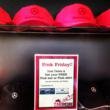 Come test drive on Fridays & get free PINK Mercedes-Benz gear!