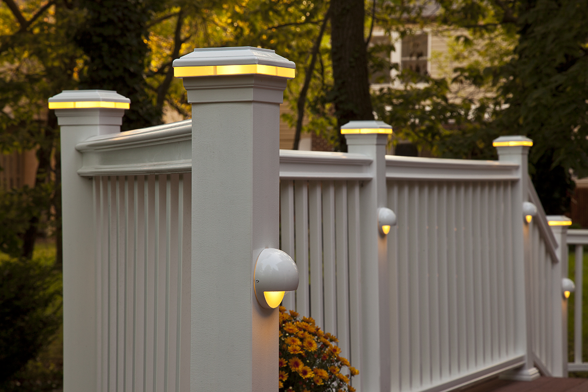 fiberon deck lighting new for 2013 fiberon deck lighting is new for