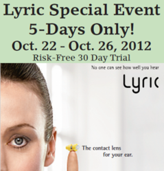 Lyric Hearing Aid Free Trial in Sarasota