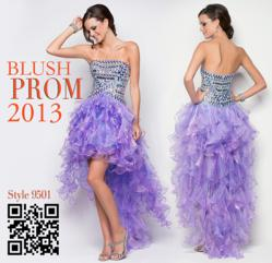 Blush Prom Dresses 9501 for 2013