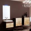 Concept One NC3 Backlit Mirror an Bathroom Vanity Set From Iotti