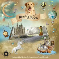 "Album Cover ""Read A Book"" Single  Performed By Marrissa on Center Sound Records"