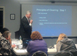 Bruce Vance (IICRC Approved Instructor) Teaching House Cleaning Technician Certification Course