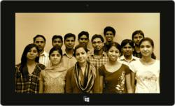 Development Team of DbyDx Software for PVR Cinemas Windows 8 Metro UI App