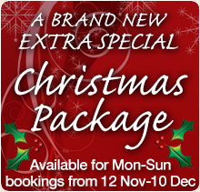 Brand New Christmas package at Homefield Grange Detox Retreat - An indulgent and relaxing Christmas treat that won't see you piling on the pounds
