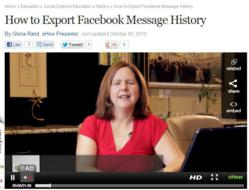 Gloria Rand, SEO copywriter, eHow.com, social media