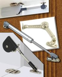 Outwater's Soft Closing Door Lifts and Stays