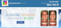 Houston dentists at Greenspoint Dental redesign website
