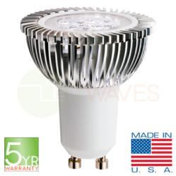PAR16 LED light bulb built with Cree XB-D chips