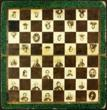 Important Civil War chess board featuring identified portraits of Civil War personalities, generals, presidents, politicians, writers, and poets.