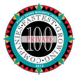 PartyPail placed within the Puget Sound Business Journal's top 100 fastest-growing private companies for the second year straight.