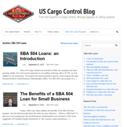 image of US Cargo Control blog