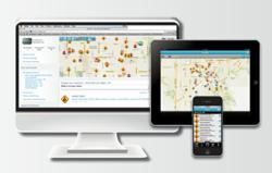 AlertID service, including public safety alerts, available through online and mobile applications