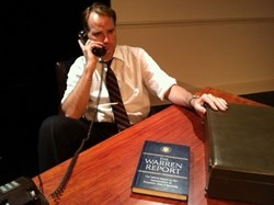 "Russ Widdall As Senator Robert F. Kennedy in New City Stage's ""RFK."""
