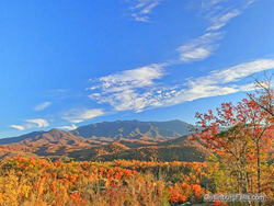 Cabins of the Smoky Mountains Fall Leaves Special - October in Gatlinburg