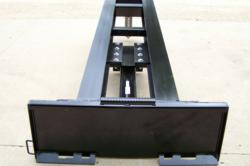 Skid Steer Twin Beam Log Splitter