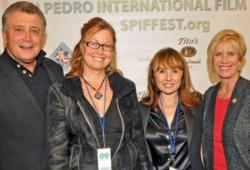 Opening night attendees at the 2012 San Pedro International Film Festival included LA City Attorney Carmen Trutanich, SPIFFest executive director Ziggy Mrkich; Maya Bristow, president of The Croatian Cultural Center and Congresswoman Janice Hahn.