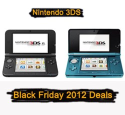 Nintendo 3DS Black Friday 2012