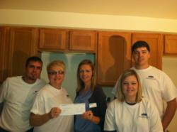 Foundation Financial Group builds with Wichita Habitat for Humanity
