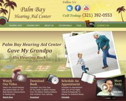 Palm Bay Hearing Aid Center New Website