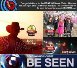 Jadd Ryan, Fusion Beat, Geoff Sewell Music chart winners
