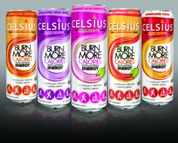 Celsius Calorie Burning Drink New Packaging Design