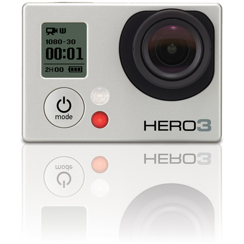 GoPro Announces HERO3 Black and Silver Edition Cameras