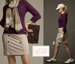 Lizzie Driver Golf Skort