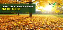 LeafFilter Fall Savings