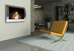 Chelsea Wall Mounted Ventless Fireplace From Anywhere Fireplace