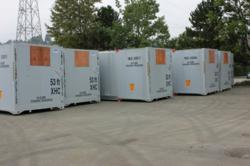 Refrigerated containers for sale.