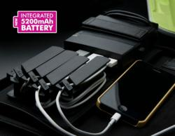 Portable Charging Station with integrated Battery Pack