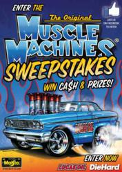 Muscle Machines Sweepstakes