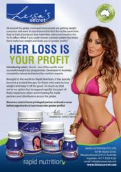 Become a Leisa's Secret weight loss distributor