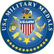 USA Military Medals Arms Inventory with California National Guard...