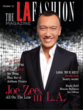 "Joe Zee and the ""All On The Line"" TV show featured in the LA Fashion magazine's October issue"