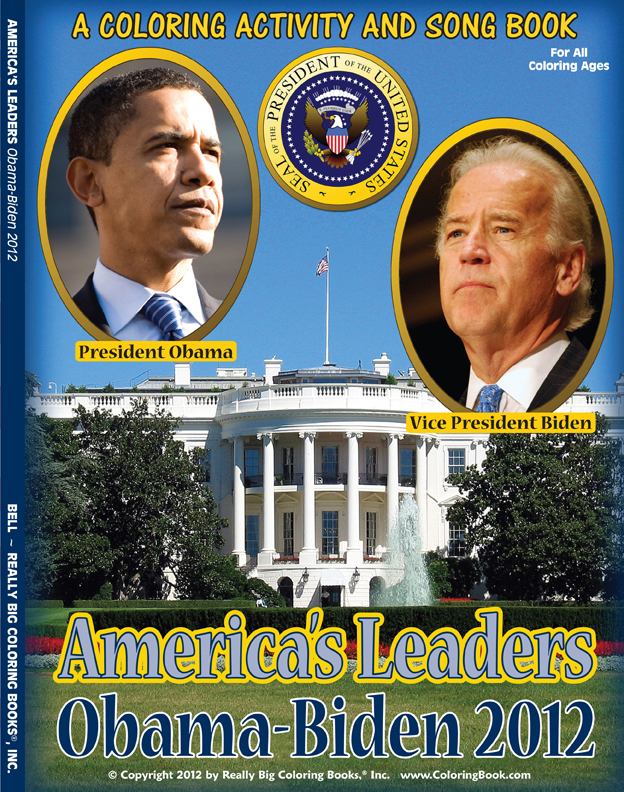 Obama Biden 2012 Presidential Coloring