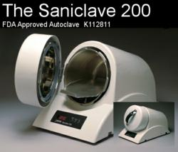 Cleared by the FDA earlier this year, the $999 new autoclave steam sterilizer by Revolutionary Science.