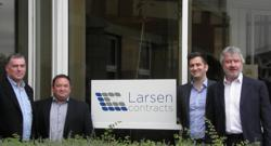 Larsen Contracts Management team at New UK Offices